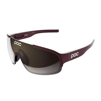 POC - Crave Thaum Red Sunglasses / Brown Electric Mirror Lenses