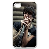 CTSLR Music & Band Series Protective Snap-on Hard Back Case Cover for iPhone 4 & 4S - 1 Pack - Band Of Mice & Men, Austin Carlile - 36
