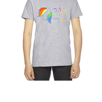 20 percent cooler rainbow dash - Youth T-shirt