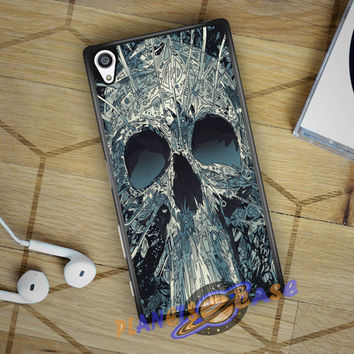 Abstract Skulls Artwork Sony Xperia Z5 case Planetscase.com