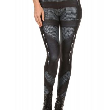 Poprageous Women's Stealth Armor Leggings