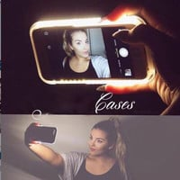 Light Up Selfie Phone Case for iPhone