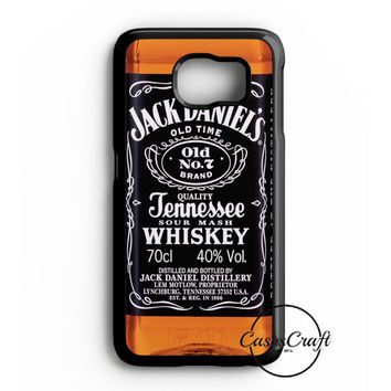 Jack Daniels Black Label Samsung Galaxy S6 Edge Case