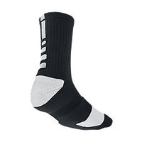 Nike Elite Crew Basketball Socks Medium/1 Pair - Black