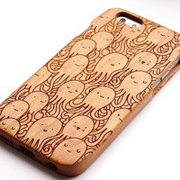 Natural wood iphone 6/6 plus phone case, for iphone 5c/5s/4s wooden case, wood Samsung Galaxy S3/S4/S5 Case, Galaxy Note 2/3/4 case Gift