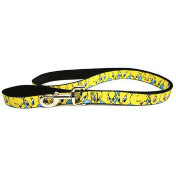 VONE05Y Looney Tunes - Tweety Bird Expressions Dog Leash