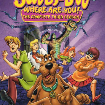 Scooby Doo, Where Are You! 11x17 Movie Poster (1969)