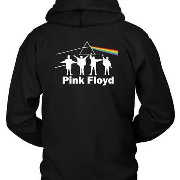 CREYH9S Pink Floyd Hoodie Two Sided