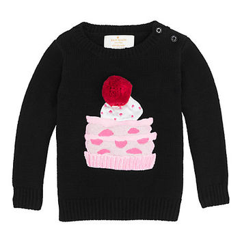 Kate Spade Babies' Pastry Sweater Black