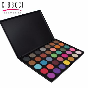 CIBBCCI 35 Colors Eyeshadow Makeup Eyeshadow Palette Comestic Tender  Make Up Eye Shadow Palette Set Kit
