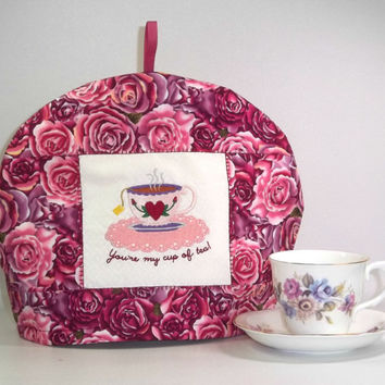 Teapot Cozy - Tea and Roses
