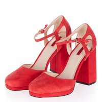 SUSIE Square Toe Platforms - New In This Week - New In