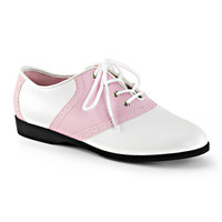 Funtasma Pink and White Saddle Shoes