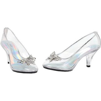 Costume Shoes: Shoes Glass Slipper | Size: 9