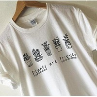 """""""Plants Are Friends"""" Tee"""