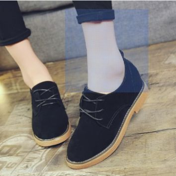New Arrival 2017 Spring and Autumn Women's Oxfords Canvas Fashion Oxfords  Women Flat H