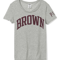 Brown University Short Sleeve Crew - PINK - Victoria's Secret