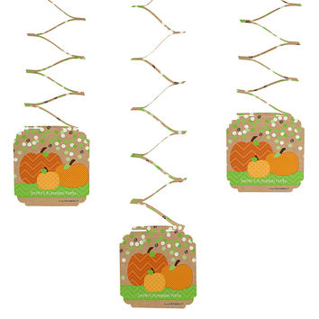 Pumpkin Patch - Everyday Party Hanging Decorations - 6 ct