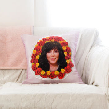 The Cher Pillow - Cher Fan Diva Novelty Gift