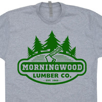 Morning Wood T Shirt Funny Offensive T Shirt Morningwood
