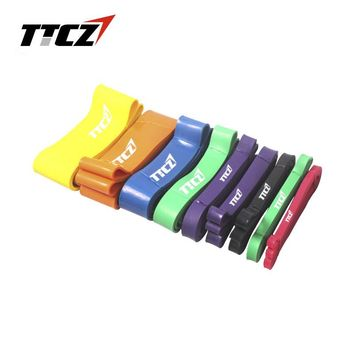 TTCZ 10 levels Resistance Bands Exercise Loop Cross fit Strength Weight strength  elastic belt Training Fitness Yoga