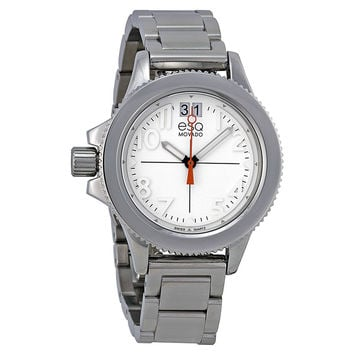 ESQ Movado® Women's 07101404 esq Fusion Stainless Steel Interchangeable Strap Watch