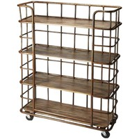 Antioch Industrial Chic Etagere