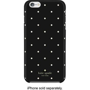 kate spade new york - Larabee Dot Hybrid Hard Shell Case for Apple® iPhone® 6 Plus - Black/Cream