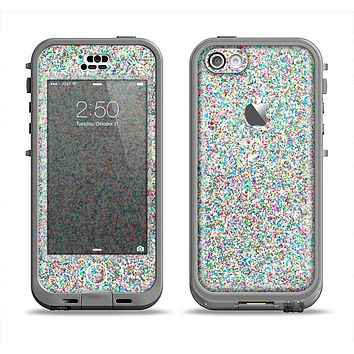 The Colorful Small Sprinkles Apple iPhone 5c LifeProof Nuud Case Skin Set