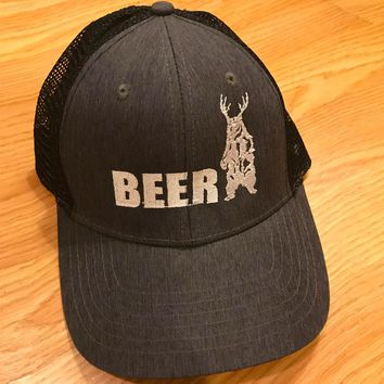 Bear + Deer = BEER Trucker Hat