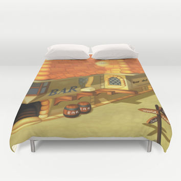 Costa Del Sol 2 Duvet Cover by Likelikes