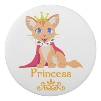 Princess Kitten Eraser