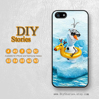 Disney Frozen olaf, iPhone 5 case, iPhone 5C Case, iPhone 5S case, iPhone 4S Case, Samsung S3 S4 S5, Note 2 3, Phone Cases, 5A271