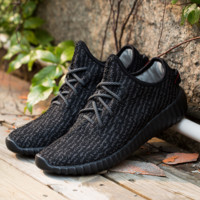 Black running outdoor Breathable sneakers shoes Sports Casual Athletic Sneakers sneakers shoes