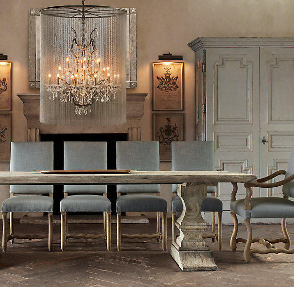 Large Size Of Marble Dining Om Table Restoration Hardware: Vaille Crystal Chandelier Extra-Large From Restoration