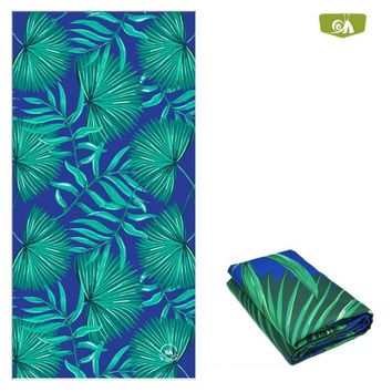 Printed Beach Towel Microfiber Quick Dry Water Absorb 152*76CM Camping Swimming Diving Beach Outdoor Sports Towel Beach Cover Up