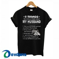 5 Things You Should Know T Shirt Women And Men Size S To 3XL