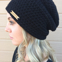 Slouchy Beanie / Slouchy Hat / Winter Hat / Tuque / Crochet Beanie / Crochet Slouchy Beanie / Baggy Beanie / Baggy Hat
