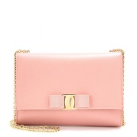 salvatore ferragamo - small leather shoulder bag