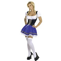 Sexy Swedish Maiden Halloween Costume
