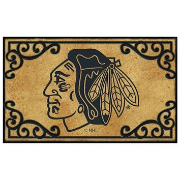 Memory Company Chicago Blackhawks Doormat (Team)