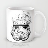 Flower Trooper Mug by Nicklas Gustafsson