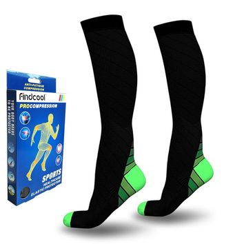 Medical Compression Knee High Socks for Men Women Compression Crew Socks Calf Support Quick Dry High Quality Leg Support