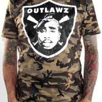 Tupac Shakur T-Shirt - Outlawz
