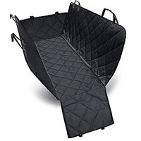 Dog Seat Cover Car Seat Cover for Pets Pet Seat Cover Hammock 600D Heavy Duty Waterproof Scratch Proof Nonslip Durable Soft Pet Back Seat Covers for Cars Trucks and SUVs