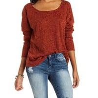 Ribbed Dolman Sleeve Top by Charlotte Russe