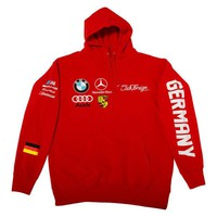 ONETOW Club Foreign German Series Hoodie 'Red'