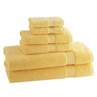 kassadesign brights bath towels | pineapple