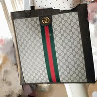 GUCCI 2018 New Tide Brand Fashion Women's Fine Quality Tote Bag F-AGG-CZDL