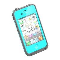 HESGI New Waterproof Shockproof Dirtproof Snowproof Protection Case Cover for Apple Iphone 4 4S Light Blue